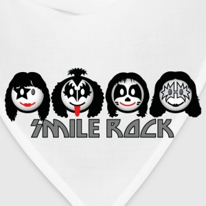 Smile Rock - Smiley Icons (dd light) Women's T-Shirts - Bandana