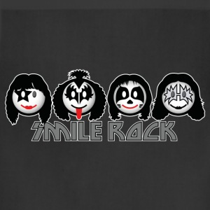 Smile Rock - Smiley Icons (dd dark) Kids' Shirts - Adjustable Apron