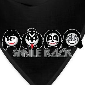 Smile Rock - Smiley Icons (dd dark) Kids' Shirts - Bandana