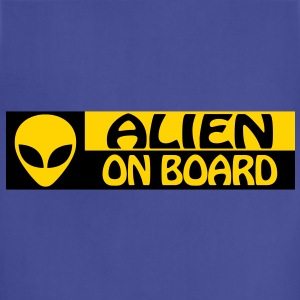ALIEN ON BOARD - Adjustable Apron