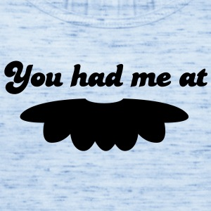 you had me at moustache mustache mustachio facial hair fun! Baby Bodysuits - Women's Flowy Tank Top by Bella