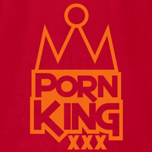 PORN KING BLING XXX Baby Bodysuits - Men's T-Shirt by American Apparel