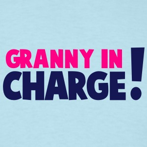 GRANNY IN CHARGE! Baby Bodysuits - Men's T-Shirt