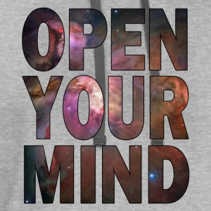 Open Your Mind - HD Design T-Shirts - Contrast Hoodie