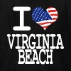 i love virginia beach - white Kids' Shirts - Kids' T-Shirt