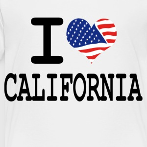 i love california Kids' Shirts - Toddler Premium T-Shirt