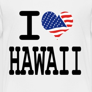 i love hawaii Kids' Shirts - Toddler Premium T-Shirt