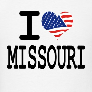 i love missouri Hoodies - Men's T-Shirt