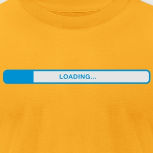 Loading (2c)++ Bags  - Men's T-Shirt by American Apparel