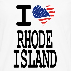 i love rhode island Kids' Shirts - Men's Premium Long Sleeve T-Shirt