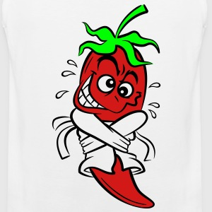 Chilli Pepper (3c)++ Kids' Shirts - Men's Premium Tank