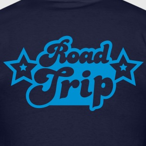 funky cool road trip design with stars Hoodies - Men's T-Shirt