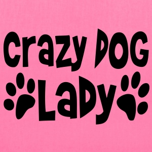 crazy_dog_lady Women's T-Shirts - Tote Bag