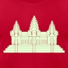 Angkor Wat / Khmer / Cambodian Flag / Glow in the Dark T-Shirts - Men's T-Shirt by American Apparel