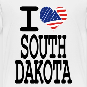 i love south dakota Kids' Shirts - Toddler Premium T-Shirt