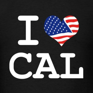 i love Cal - California Sweats à capuche - T-shirt pour hommes