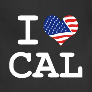 i love Cal - California Kids' Shirts - Adjustable Apron