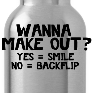 Wanna Make Out? Women's T-Shirts - Water Bottle