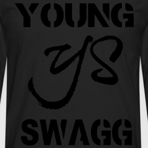 YOUNG SWAGG Hoodies - Men's Premium Long Sleeve T-Shirt