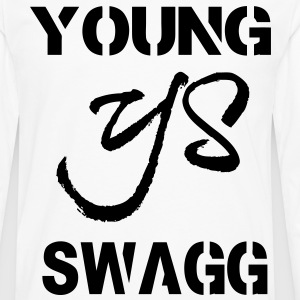 YOUNG SWAGG T-Shirts - Men's Premium Long Sleeve T-Shirt