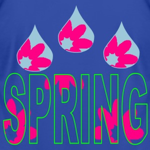 raindrops_of_spring_flowers3 Zip Hoodies/Jackets - Men's T-Shirt by American Apparel