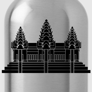 Angkor Wat / Khmer / Cambodian Flag / Glow in the Dark - Water Bottle