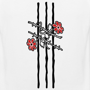 'Barbed Wire ' Men's T-Shirt by American Apparel - Men's Premium Tank