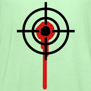 sniper T-Shirts - Women's Flowy Tank Top by Bella