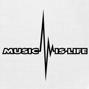 music_is_life_pulse T-Shirts - Bandana