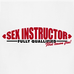 Sex Instructor 2c Women's T-Shirts - Adjustable Apron