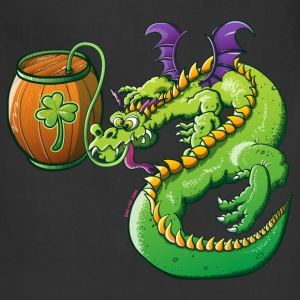 Drunk St Patrick's Day Dragon Hoodies - Adjustable Apron