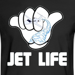 JET life. Hoodies - Men's Long Sleeve T-Shirt