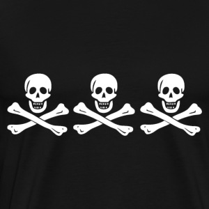 Christopher Condent Pirate Flag Hoodies - Men's Premium T-Shirt