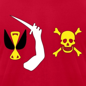 Christopher Moody Pirate Flag Hoodies - Men's T-Shirt by American Apparel