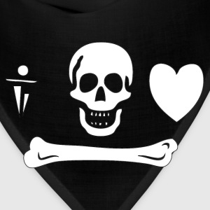 Stede Bonnet Pirate Flag Hoodies - Bandana