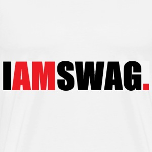I am Swag  Hoodies - Men's Premium T-Shirt