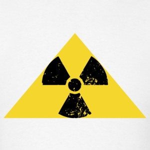 Radiation sign of Leonard of the Big Bang Theory - Men's T-Shirt