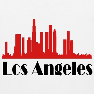 los angeles skyline - Men's Premium Tank