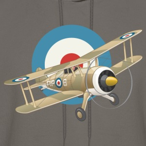 French WWI Airplane - Men's Hoodie