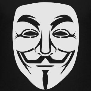 Anonymous/Guy Fawkes mask 1 clr Kids' Shirts - Toddler Premium T-Shirt