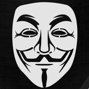 Anonymous/Guy Fawkes mask 1 clr T-Shirts - Bandana