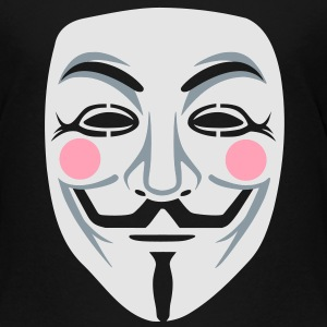Anonymous/Guy Fawkes mask 3clr Kids' Shirts - Toddler Premium T-Shirt