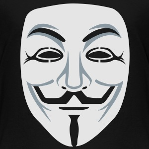 Anonymous/Guy Fawkes mask 2clr Kids' Shirts - Toddler Premium T-Shirt