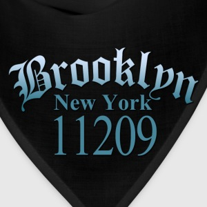 Brooklyn NY 11209 Women's T-Shirts - Bandana