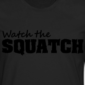 Watch The Squatch (Camo) - Kid's - Men's Premium Long Sleeve T-Shirt