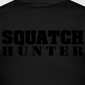 Squatch Hunter (Camo) - Hoodie - Men's T-Shirt