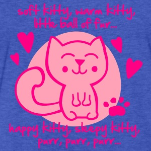 soft kitty, warm kitty, little ball of fur... Sweatshirts - Fitted Cotton/Poly T-Shirt by Next Level