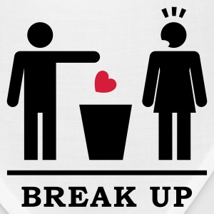 Break up - Broken Heart Woman 2c T-Shirts - Bandana