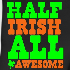 HALF IRISH all awesome St Patrick's Day Design Hoodies - Leggings