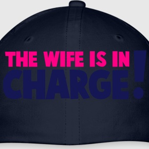 the wife is in charge! Hoodies - Baseball Cap